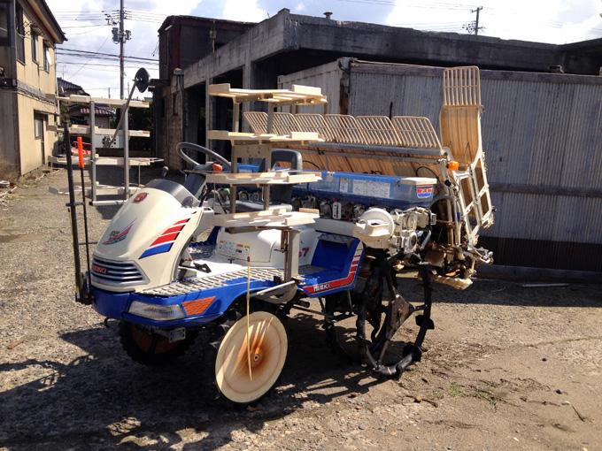 長野のお客様からイセキの田植え機PG7を買取させて頂きました