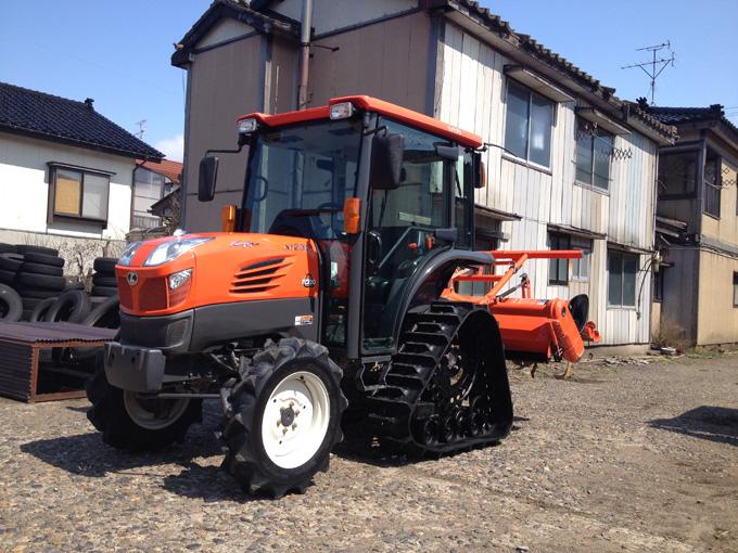 長野のお客様からクボタのトラクターKT230を買取させて頂きました