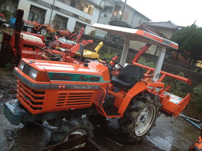 新潟県内のお客様からクボタのトラクターZL1-205を買取させて頂きましたの写真