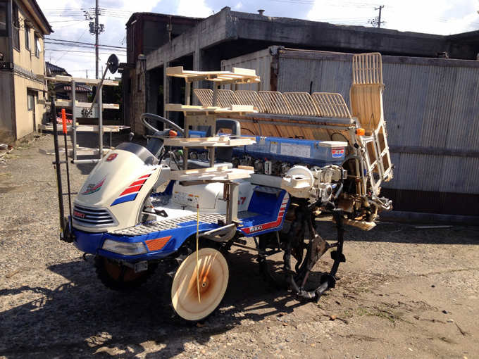 長野のお客様からイセキの田植え機PG7を買取させて頂きましたの写真