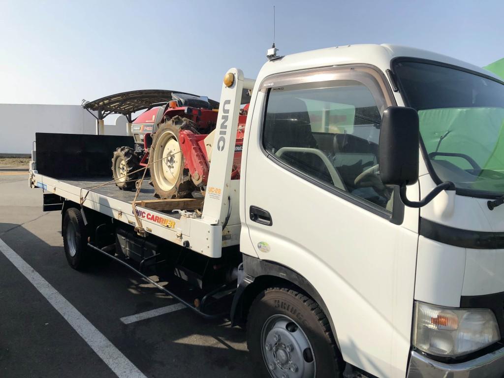 石川県の小松市からヤンマートラクターF200を買い取りさせて頂きました。Kさまありがとうございました。の写真