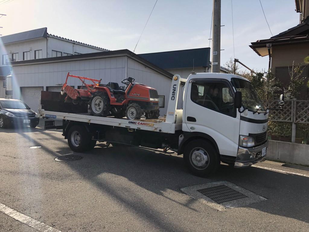 柏崎市北半田からクボタトラクターA-15を買取させていただきました。 I 様ありがとうございます。の写真