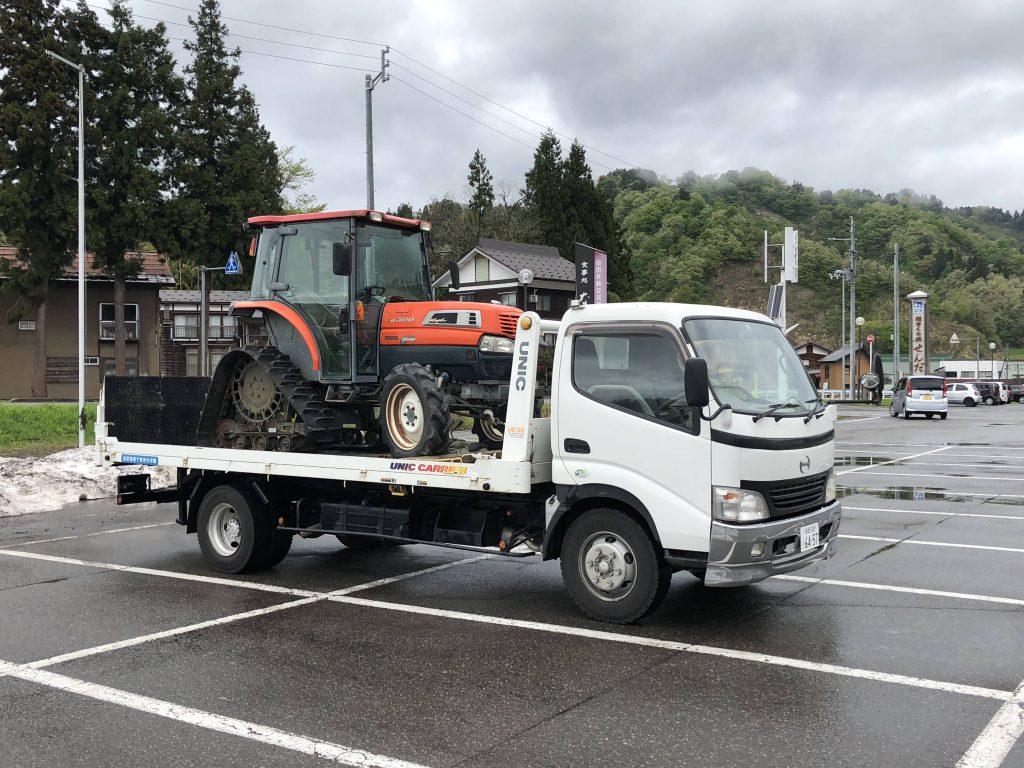 十日町市のT様からクボタトラクターKL500を買い取りさせていただきました。ありがとうございました。の写真